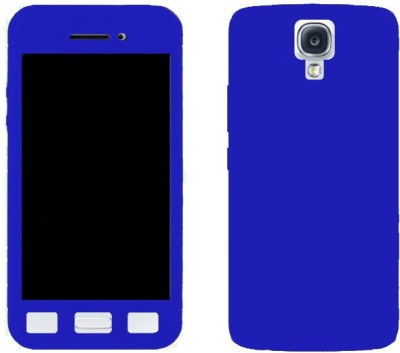 TrofT Front & Back Case for SAMSUNG Galaxy S4(Blue, Dual Protection)