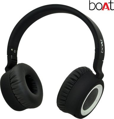 1b615f9e9e7 boAt Rockerz 600 Bluetooth Headset with Mic(Black, On the Ear)