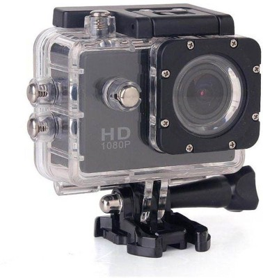 View SALESQUID 1080 waterproof HD1080 sports/action camera Sports and Action Camera(Black 12 MP) Price Online(SalesQuid)