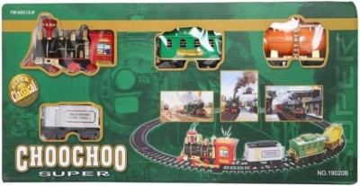 Shy Products Light & Sound Choo choo Train Set For Kids(Multicolor)