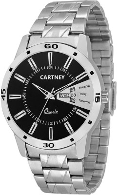 Cartney Analog Black Dial Watch  - For Men   Watches  (cartney)