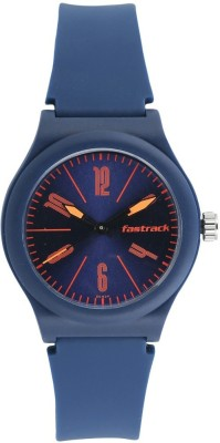 Fastrack 38037PP06 Elementary Tees Analog Watch For Unisex