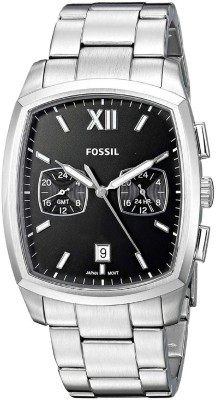 Fossil FS5358 Fossil - Knox Dual Time - FS5358 (Silver) Watches Watch  - For Men (Fossil) Delhi Buy Online