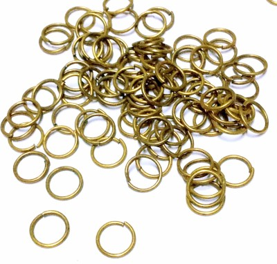 Sparkle Brass Jump ring 20 Gauge 8MM Unsoldered Ring