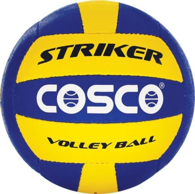 COSCO Striker Volleyball   Size: 4 Pack of 1, Multicolor COSCO Volleyballs