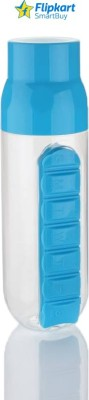 Flipkart SmartBuy Pill Organiser 700 ml Bottle(Pack of 1, Blue, Clear)  available at flipkart for Rs.299