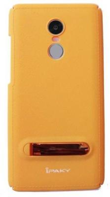 3 square Back Cover for Mi Redmi Note 4 Yellow