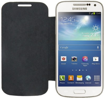 ACM Flip Cover for Samsung Galaxy S4 I9500(Black, Cases with Holder)