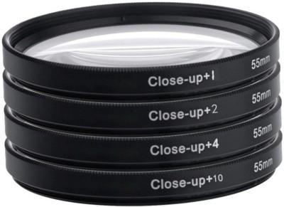 NUMEX 55Mm Close Up Lens Filter Kit For Sony 18-55Mm 55-250Mm Alpha Dslr Digital Camera Close-up Filter(55)  available at flipkart for Rs.449