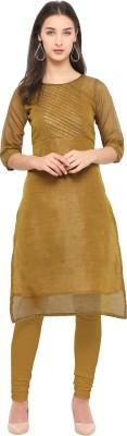sarvagny clothing Festive & Party Self Design Women Kurti(Brown) Flipkart