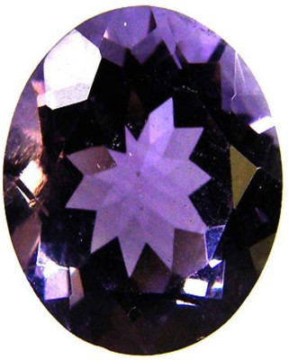 TEJVIJ AND SONS 6.25 Ratti Certified Natural Amethyst Gemstone Stone Amethyst Ring