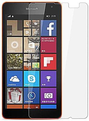 MOBIVIILE Tempered Glass Guard for Microsoft Lumia 540 / Microsoft Lumia 540 Dual SIM(Pack of 1)