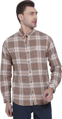 51331bb1db1 50% OFF on Mufti Men Checkered Casual Button Down Shirt on Flipkart ...
