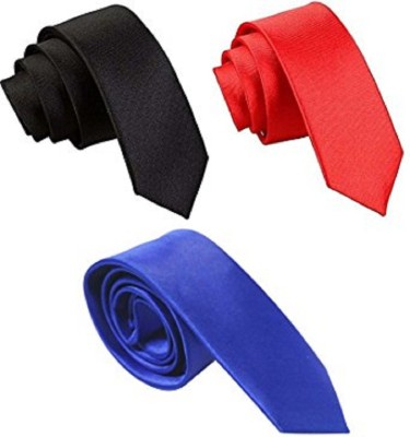DS Solid Tie(Pack of 3) at flipkart