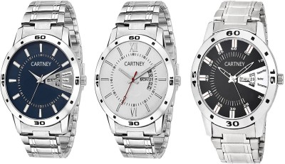 Cartney Combo Pack of 3 Watch  - For Men   Watches  (cartney)