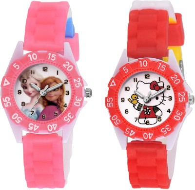 SOOMS DESINGER AND FANCY HELLO & PRINCES CARTOON PRINTED ON TINNY DIAL KIDS & CHILDREN Watch  - For Boys & Girls