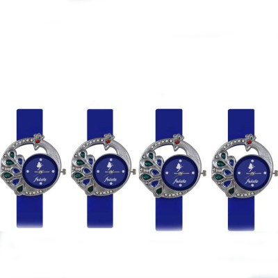 Naksh Fashion FRI-266 Designer Stylish Watch combo With Fancy Dial And Belt Watch  - For Women   Watches  (Naksh Fashion)