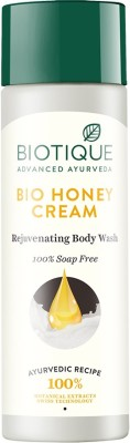 Biotique Bio Honey Cream Rejuvenating Body Wash(190 ml)
