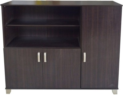 Eros Contempo Engineered Wood Free Standing Cabinet(Finish Color - Wenge)