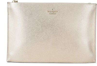 Kate Spade Casual Gold, Pink  Clutch at flipkart