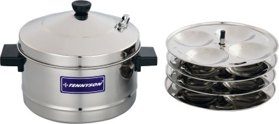 TENNYSON SPIN OUTER LID SMALL Induction   Standard Idli Maker 4 Plates , 16 Idlis
