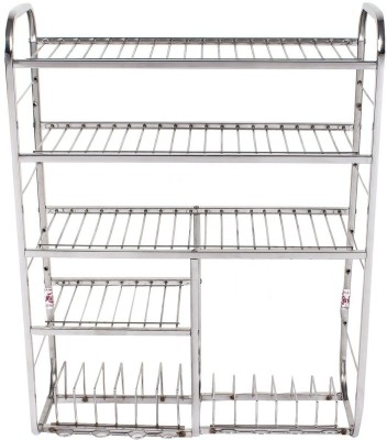 LAKSHYA ENTERPRISES Mudular Stainless Steel Kitchen Rack(Steel) at flipkart