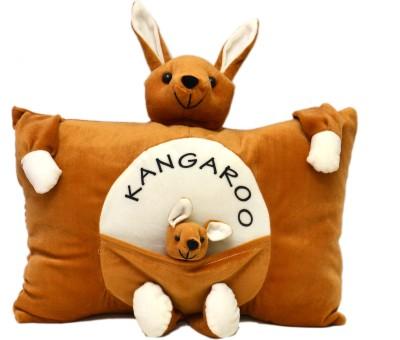 Prachi Kangaro Pillow With Baby   20 Brown Prachi Soft Toys
