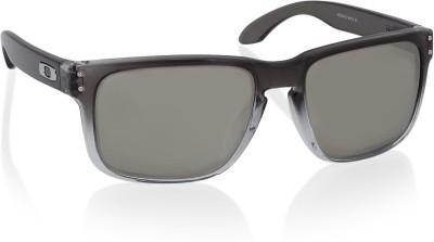 Oakley HOLBROOK Wayfarer Sunglass(Silver)