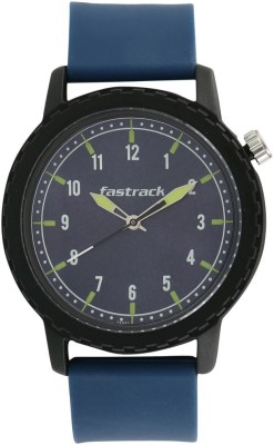 Fastrack 38038PP02 Elementary Tees Analog Watch For Unisex