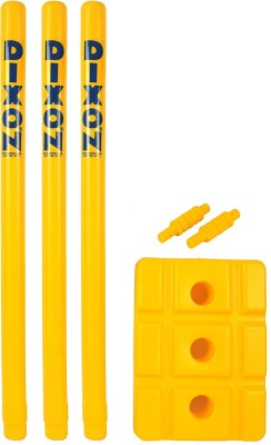 Sunshine Gifting Dixon PVC Plastic Cricket Wicket Set (Yellow)(Yellow)  available at flipkart for Rs.699