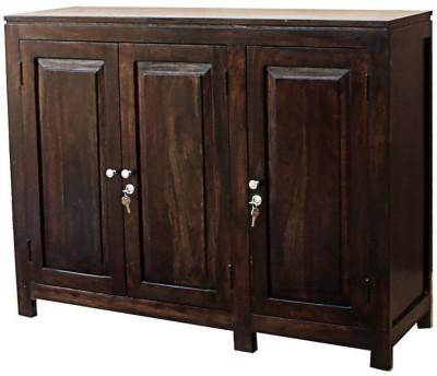 The Attic Solid Wood Free Standing Chest of Drawers(Finish Color - Dark walnut)