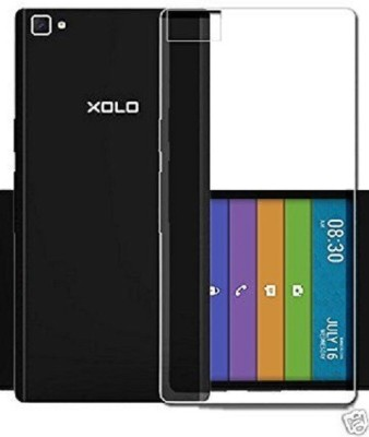 Mitzvah Back Cover for Xolo Black 1X(Transparent, Shock Proof, Flexible Case)