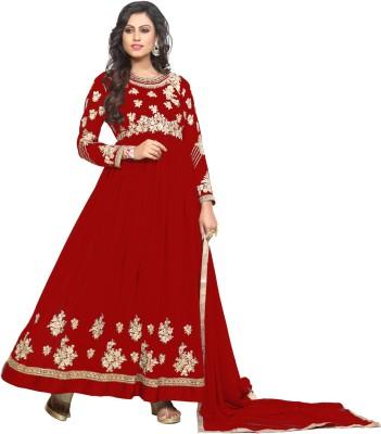 Fashionuma Embroidered Kurta & Salwar(Stitched)