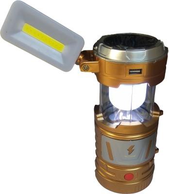 Everpro Multifunction Led Solar Lantern, USB Mobile Charging, Inbuilt Rechargebale Lithium Battery , Torch cum Study Table Lamp(22 cm, Blue, Black, Golden)  available at flipkart for Rs.449