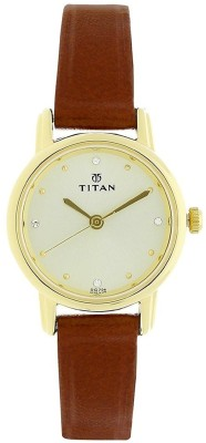 Titan 2572YL01  Analog Watch For Women