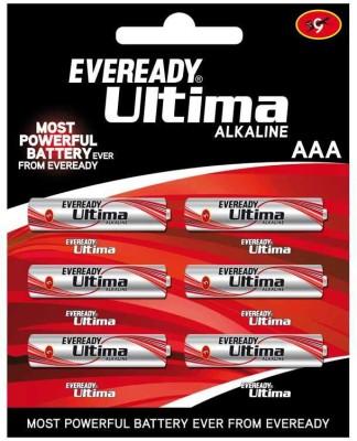 Eveready Ultima Alkaline AAA  Battery(Pack of 6)