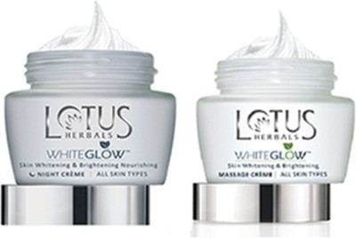 Lotus Herbals Nutranite Skin Renewal Nutritive Night Creme 50 G+ Skin Renewal Daily pf 25 Moisturising Creme 60 g(Set of 1)  available at flipkart for Rs.785