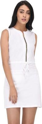 Raaika Women Sheath White Dress