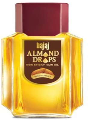 Bajaj Almond Drops Non Stricky With Vitamin-E Hair Oil(20 ml)  available at flipkart for Rs.192
