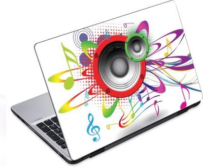 ezyPRNT Loud Speakers Music P  14 to 14.9 inch  Vinyl Laptop Decal 14