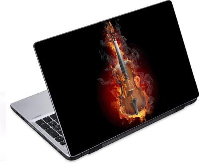 ezyPRNT Guitar Musical Instrument Music Y (12 to 12.9 inch) Vinyl Laptop Decal 12  available at flipkart for Rs.270