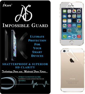 AS Front and Back Screen Guard for Apple iPhone 5, Apple iPhone 5s(Pack of 1)
