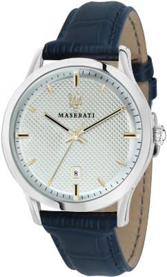 Maserati R8851125006 Beige Analog Watch For Men