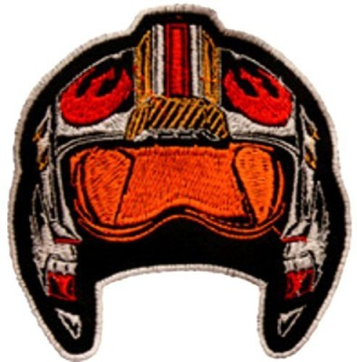 Blue Heron Star Wars Rebel Trooper Helmet 3.5 Embroidered Iron/Sew-On Applique Patches By(Multicolor)