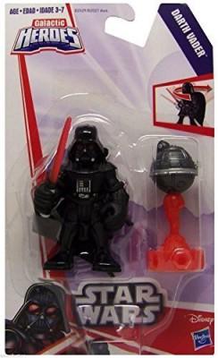 Playskool Star Wars Galactic Heroes Darth Vader Figure Nip 2015(Multicolor)