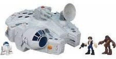 Playskool Heroes Star Wars Galactic Heroes Millennium Falcon And Figures [Parallel Import Goods](Multicolor)