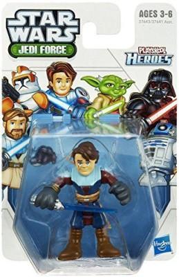 Playskool Heroes Star Wars Jedi Force Anakin Skywalker 2.5 By(Multicolor)
