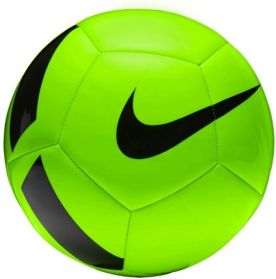 Nike Pitch Team Football - Size: 5(Pack of 1, Green)