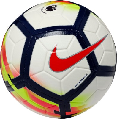 Nike PL Premier League Strike Football - Size: 5(Pack of 1, White)