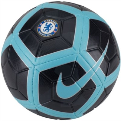 Nike CFC Chelsea Strike Football - Size: 5(Pack of 1, Black, Blue)